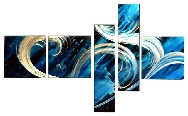 Blue Abstract Wall Art Within Well Known Home Design Unique Blue Wall Art – Home Design And Wall Decoration Ideas (View 8 of 15)