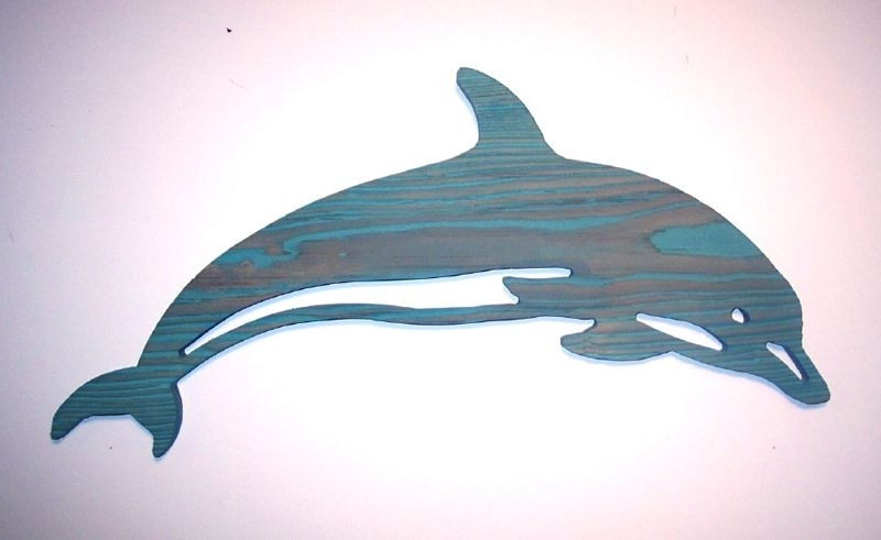 Bold Inspiration Dolphin Wall Art House Interiors Decor Routed Wood With Preferred Dolphin Metal Wall Art (View 2 of 15)