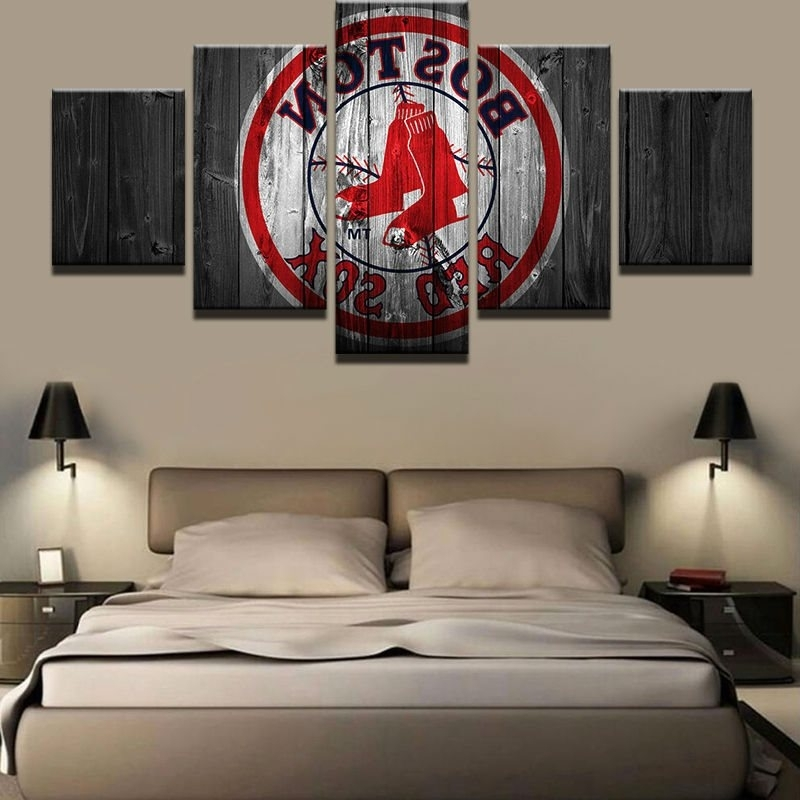 Boston Red Sox Wall Art In Current Boston Red Sox Canvas Prints Painting Wall Art Sport Ho (View 15 of 15)