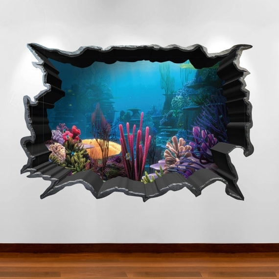 Bravebtr Pertaining To Popular 3D Wall Art With Lights (View 9 of 15)