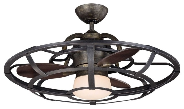Bring Back Comfort Into Your Home – 15 Wonderful Enclosed Ceiling In Most Recently Released Enclosed Outdoor Ceiling Fans (View 3 of 15)