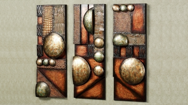 Brown Abstract Wall Art Throughout Current Abstract Wall Art Luxury Wall Metal Art – Home Design And Wall (View 4 of 15)