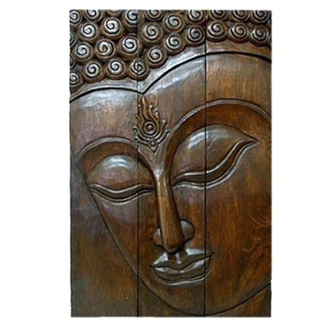Buddha Wooden Wall Art Regarding Fashionable Wooden Buddha Wall Art Wooden Wall Art Wall Art Decor Ideas Large (View 13 of 15)