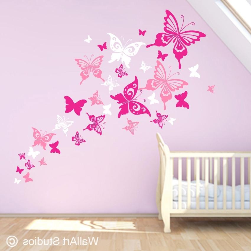 Featured Photo of Butterflies Wall Art Stickers