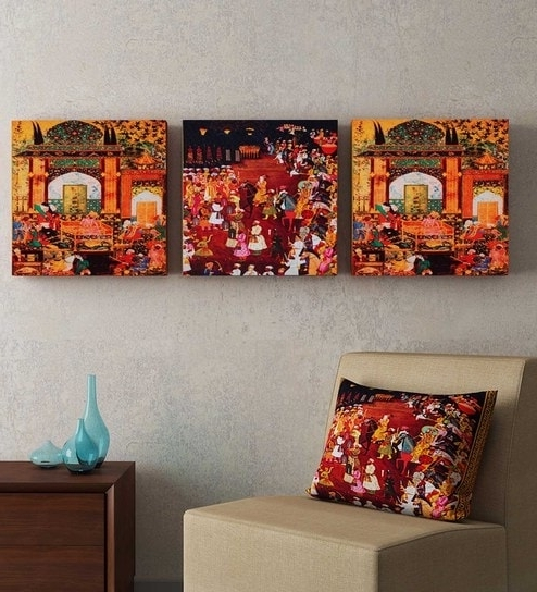 Buy Brown Mdf Wood Abstract Framed Wall Art Sejnisha Gupta – Set With Regard To Current Brown Abstract Wall Art (View 15 of 15)