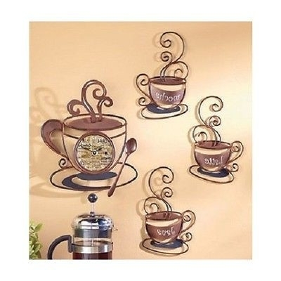 Cafe Latte Wall Decor Coffee Mocha Kitchen Iron Blog Simple Regarding 2018 Cafe Latte Kitchen Wall Art (View 5 of 15)