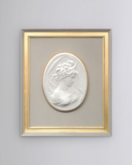 """Cameo Wall Art With Best And Newest John Richard Collection """"french Nouveau Ii"""" Framed Cameo Wall Art (View 8 of 15)"""