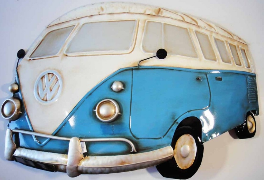 Campervan Metal Wall Art Inside Most Current Full Metal Vw Wall Art – Vw Camper Blog (View 3 of 15)