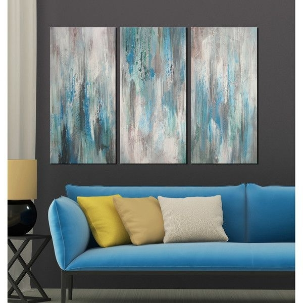 Canvas Wall Art 3 Piece Sets With Current 3 Piece Canvas Wall Art – Arsmart (View 6 of 15)