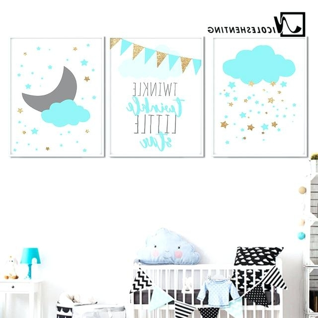 Canvas Wall Art Kids Canvas Wall Art Nursery Wall Art Canvas Inside Best And Newest Childrens Wall Art Canvas (View 2 of 15)
