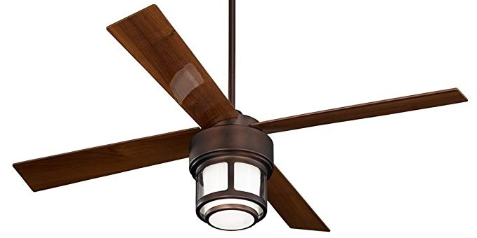 """Casa Vieja Outdoor Ceiling Fans For Current 52"""" Casa Vieja Tercel Oil Brushed Bronze Outdoor Ceiling Fan (View 5 of 15)"""