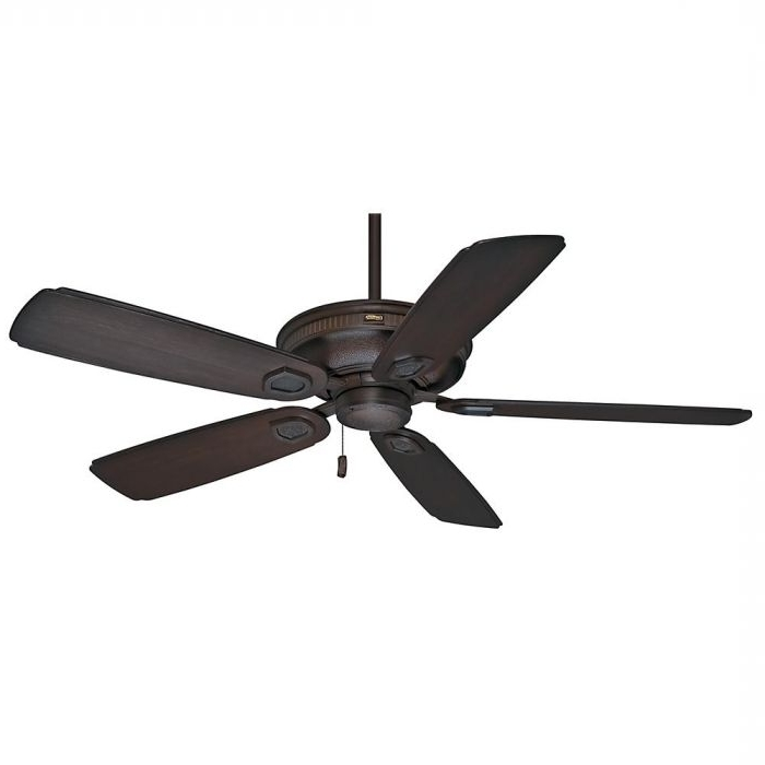 "Casablanca 60"" Heritage Outdoor Ceiling Fan In Brushed Cocoa Inside Well Known Casablanca Outdoor Ceiling Fans With Lights (View 4 of 15)"