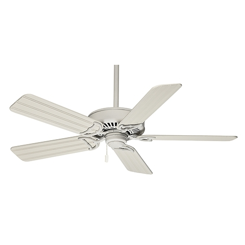 Casablanca Fans Panama® Pull Chain Cottage White Energy Star Outdoor Within Well Known Outdoor Ceiling Fans With Pull Chains (View 2 of 15)