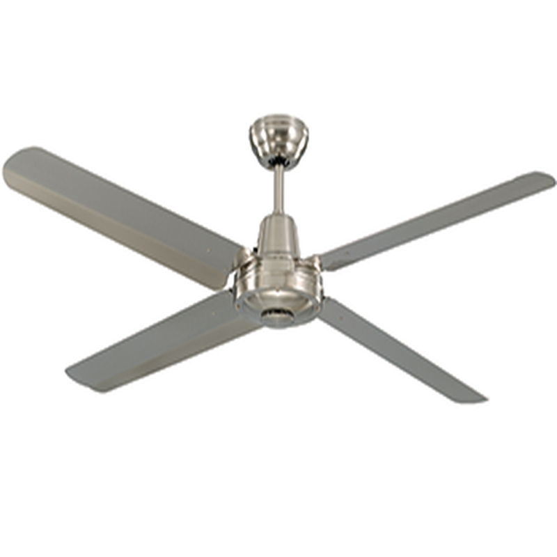 Ceiling: Extraordinary Stainless Steel Ceiling Fan Brushed Nickel With Regard To 2017 Stainless Steel Outdoor Ceiling Fans (View 7 of 15)
