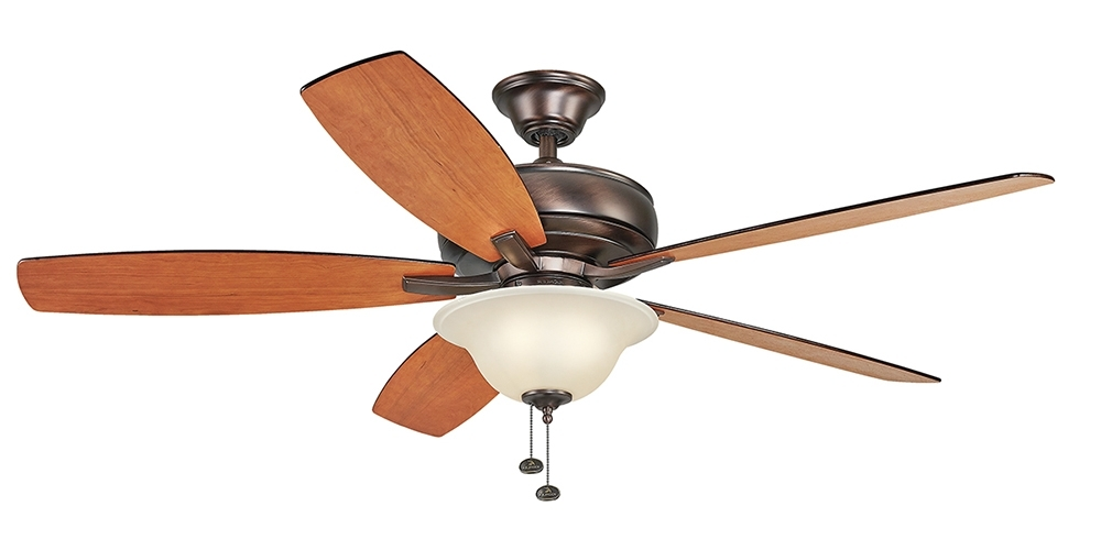 Ceiling Fan Airflow, Ceiling Airflow Efficiency – Kichler Lighting With Regard To Newest Efficient Outdoor Ceiling Fans (View 4 of 15)