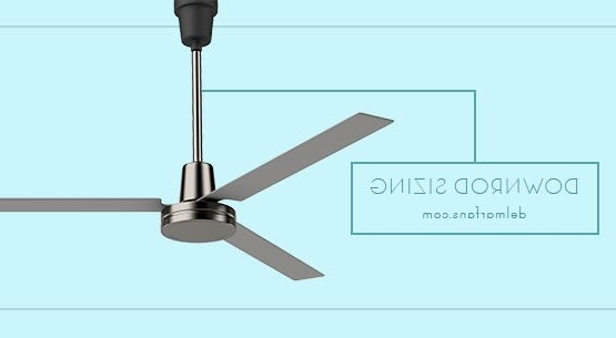 Ceiling Fan Downrod Length & Extension Rod Selection Guide & Height With Popular Outdoor Ceiling Fans With Long Downrod (View 1 of 15)