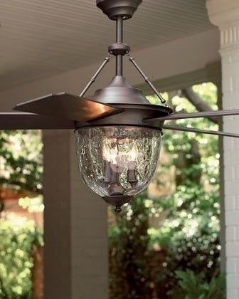 Ceiling Fan Intended For Preferred Outdoor Ceiling Fans With Lantern Light (View 12 of 15)