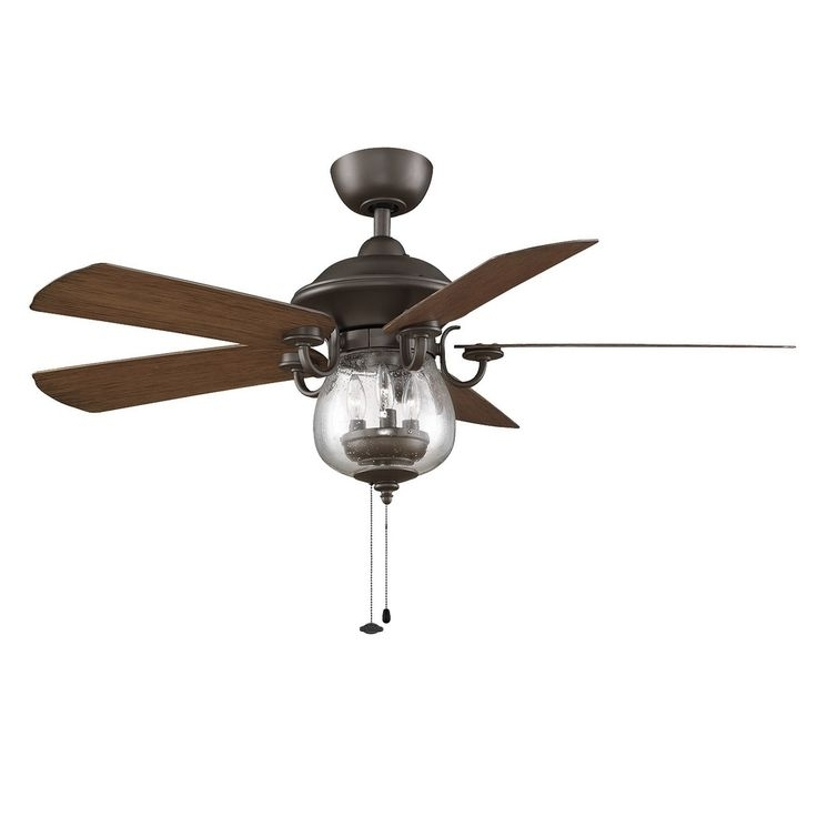 Ceiling Fans With Lights Within Vintage Look Outdoor Ceiling Fans (View 1 of 15)