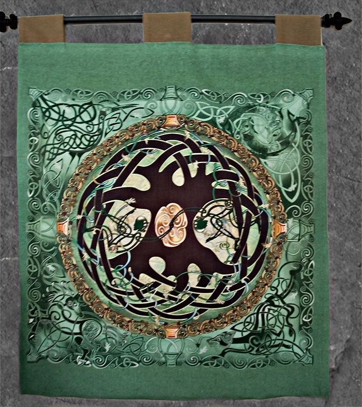 Celtic Tree Of Life Wall Art Inside Latest Celtic Tree Of Life Wall Hanging Celtic Artwelsh Artist Jen (View 1 of 15)