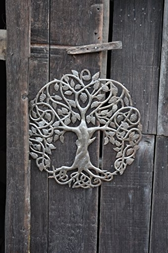 Celtic Tree Of Life Wall Art Intended For Favorite New Design Celtic Inspired Tree Of Life, Metal Wall Art, Fair Trade (View 9 of 15)