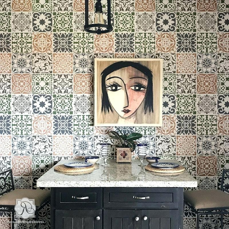 Ceramic Tile Wall Art Within Newest Ceramic Tile Wall Glass Wall Tile Ceramic Tile Wall Art (View 6 of 15)