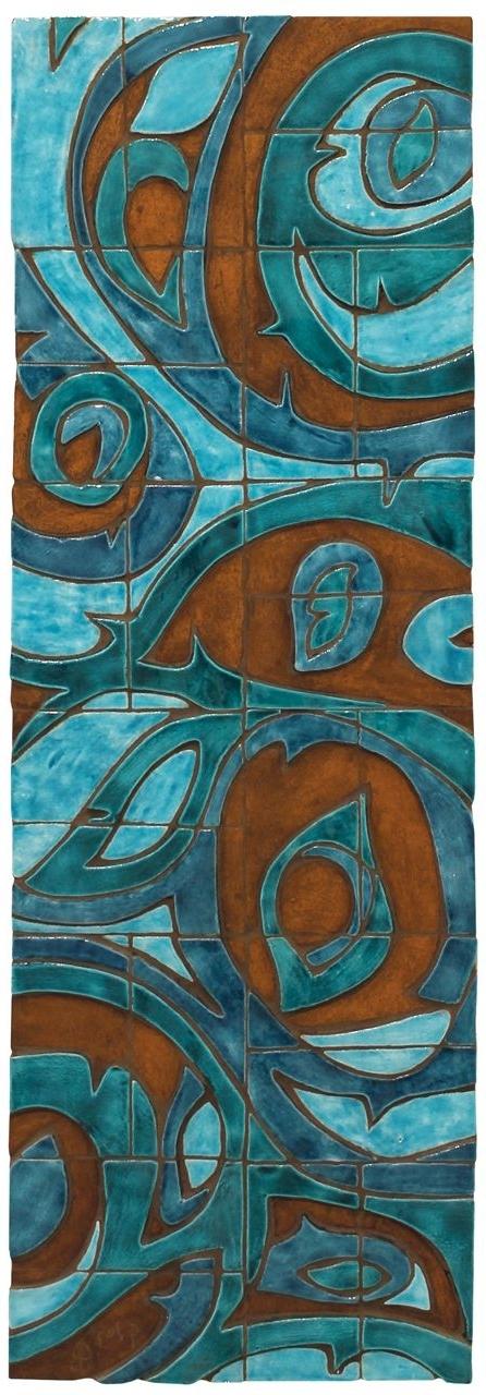 Ceramic Wall Art Inside Popular Abstract Ceramic Wall Art (View 8 of 15)