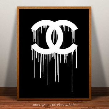 Chanel Wall Decor Within Popular Chanel Wall Art Chanel Wall Decor 2018 Wall Decorating Ideas (View 7 of 15)