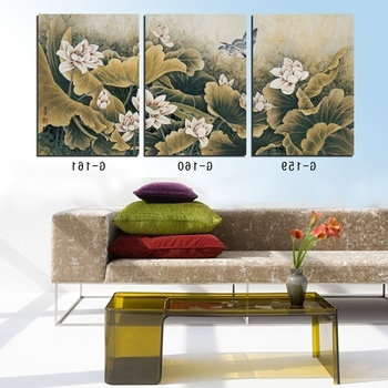Cheap 3 Piece Canvas Art Prints, Find 3 Piece Canvas Art Prints Within Well Liked 3 Piece Floral Canvas Wall Art (View 10 of 15)