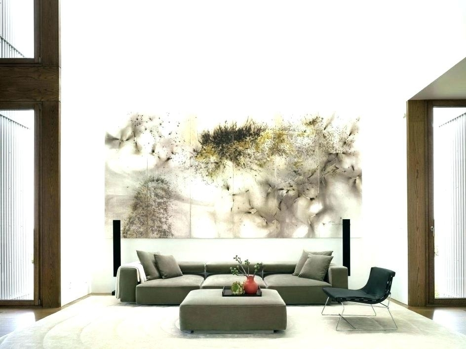 Cheap Oversized Wall Art Pertaining To Recent Oversized Paintings House Attractive Oversized Wall Art Contemporary (View 11 of 15)