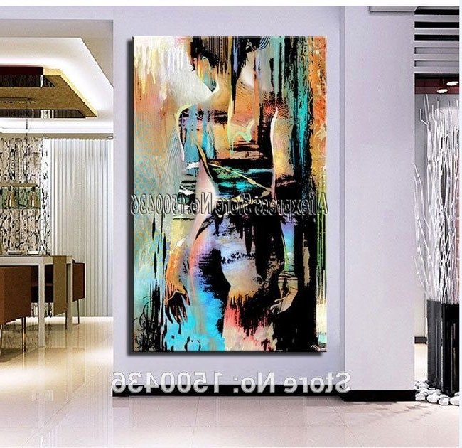 Cheap Painting & Calligraphy, Buy Directly From China Suppliers Intended For 2018 Abstract Body Wall Art (View 3 of 15)