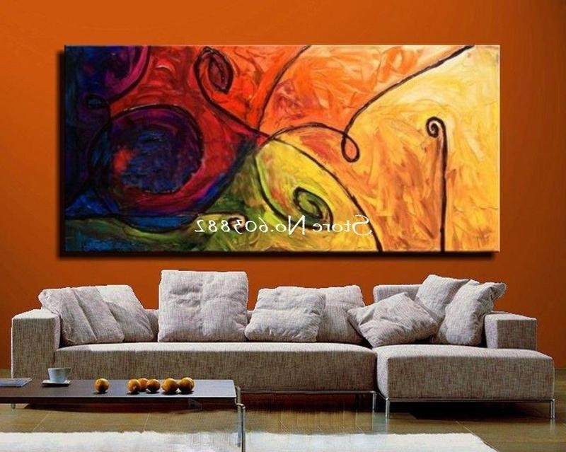 Cheap Wall Canvas Art Inside Well Liked 10039+ Extra Large Canvas Art Medium Size Of Gorgeous Red Abstract (View 8 of 15)
