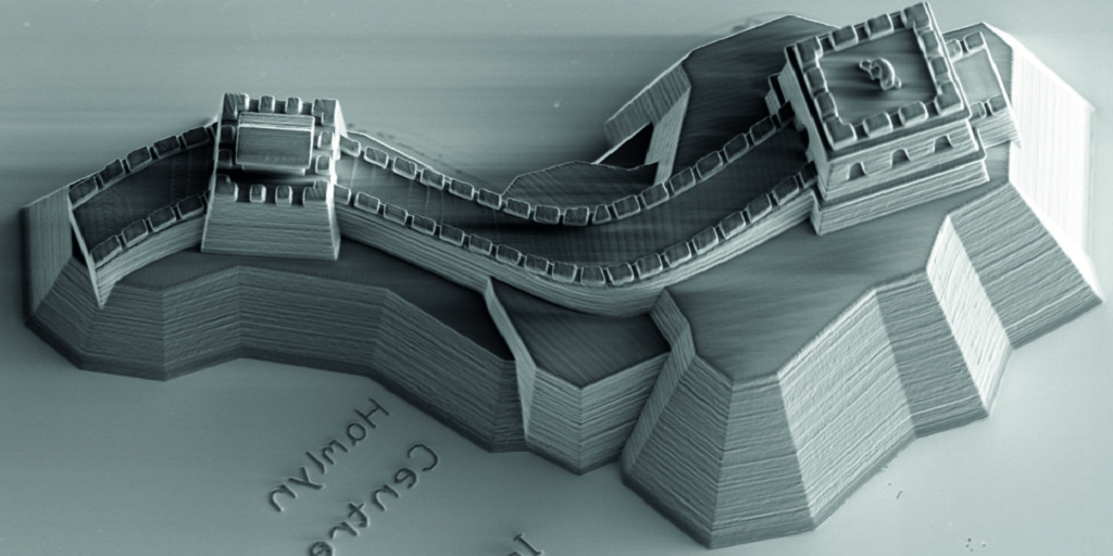 Chinese President Receives A Microscopic 3D Printed Great Wall Of Throughout Favorite Great Wall Of China 3D Wall Art (View 3 of 15)