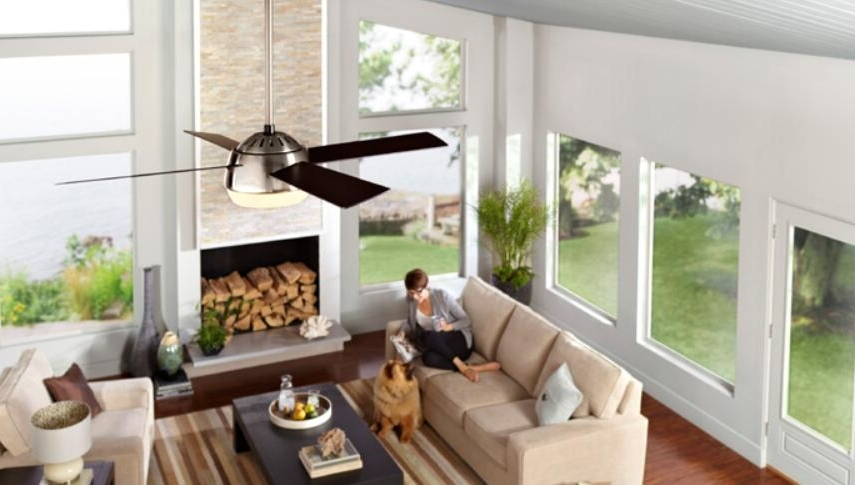 Choose Right Downrod Ceiling Fan Fit Different Ceiling Heights Inside Latest Outdoor Ceiling Fans With Long Downrod (View 2 of 15)