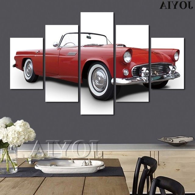 Featured Photo of Classic Car Wall Art