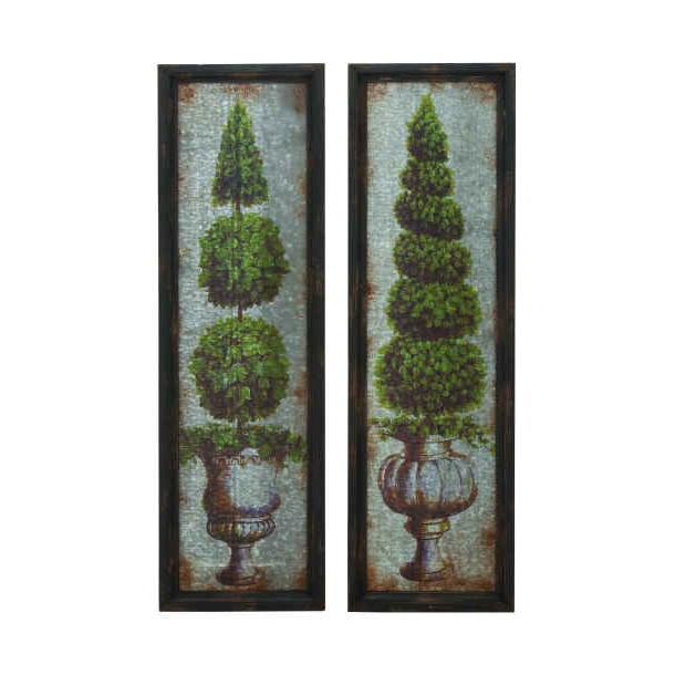 Classic Topiary Wall Panels Regarding Popular Topiary Wall Art (View 2 of 15)