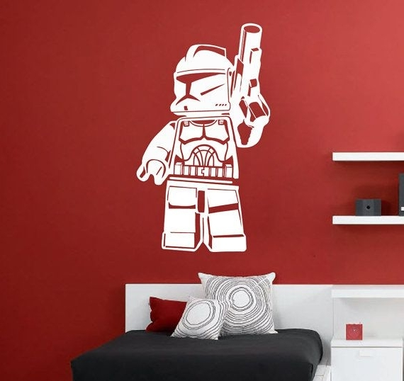 Clone Trooper, Wall Decals Within Well Liked Lego Star Wars Wall Art (View 3 of 15)