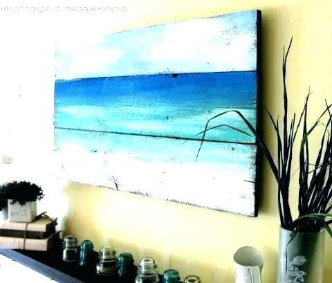 Coastal Canvas Wall Art Beach Wall Art Canvas Beach Wall Decor For Inside Most Recent Coastal Wall Art Canvas (View 7 of 15)