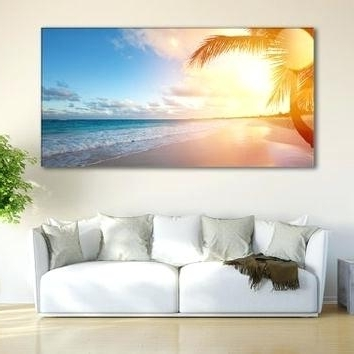 Featured Photo of Coastal Wall Art Canvas