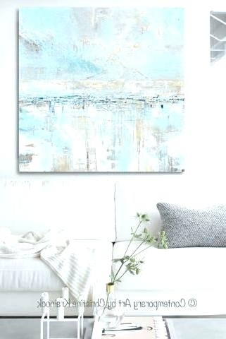 Coastal Wall Art Canvas Intended For Most Recent Coastal Canvas Wall Art Coastal Wall Art Canvas Wall Art For Living (View 13 of 15)