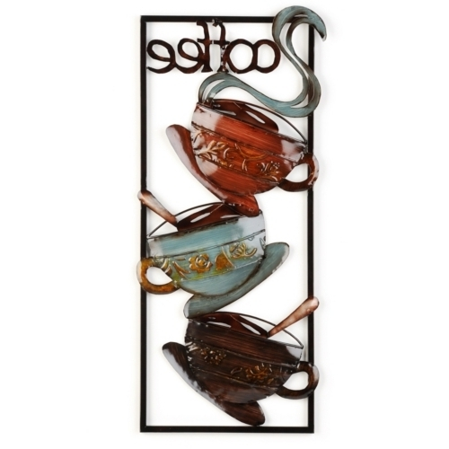 Coffee Metal Wall Art – Arsmart With Widely Used Coffee Theme Metal Wall Art (View 2 of 15)