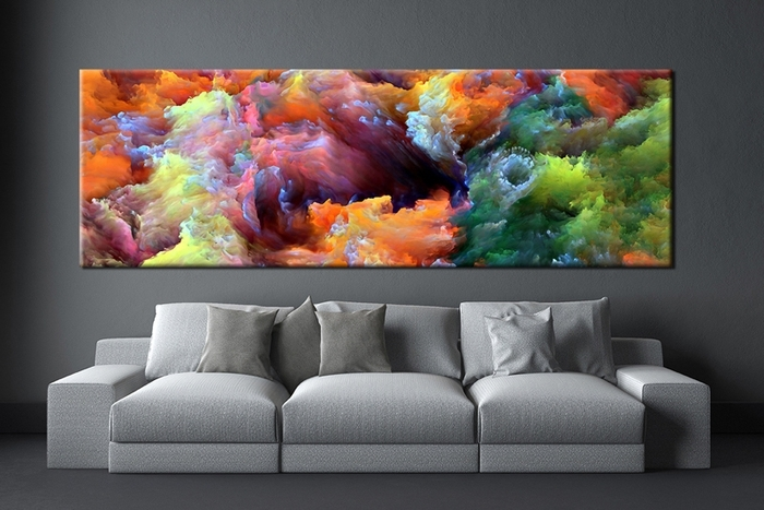 Colourful Abstract Wall Art Within Latest (View 3 of 15)