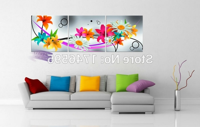 Featured Photo of Colourful Abstract Wall Art