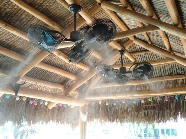Commercial Outdoor Ceiling Fans Throughout Widely Used Outdoor Ceiling Fan And Light The Mist Ceiling Fans Are Outdoor (View 6 of 15)