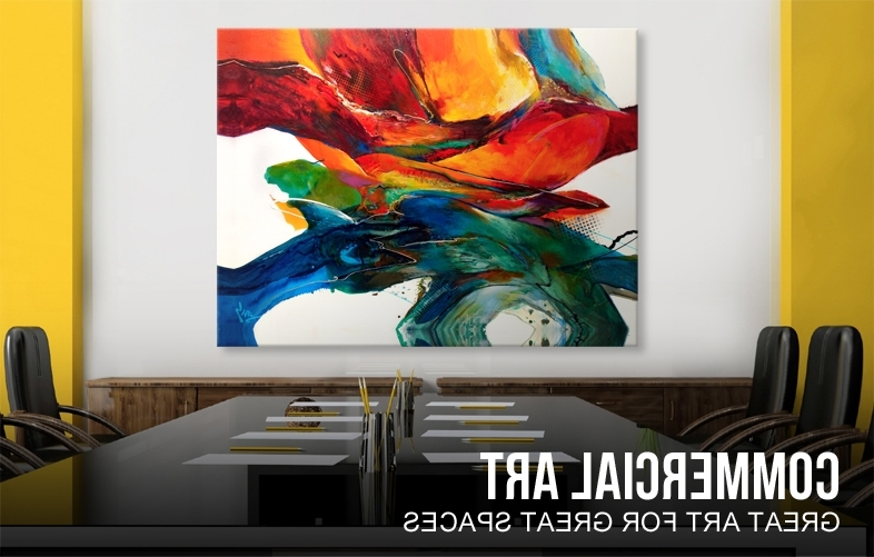 Commercial Wall Art For Fashionable Wall Art Designs: Best Commercial Wall Art With Big Large Size (View 4 of 15)