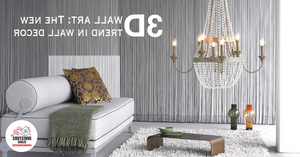 Contemporary 3D Wall Art With Regard To Newest 3D Wall Art The New Trend In Wall Décor (View 2 of 15)