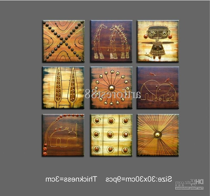 Contemporary Abstract Wall Art Inside Popular Abstract Modern Art For Sale Abstract Art African Wall Art For Sale (View 7 of 15)
