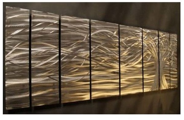 Contemporary Design: Artwork : Contemporary Metal Wall Art (View 9 of 15)