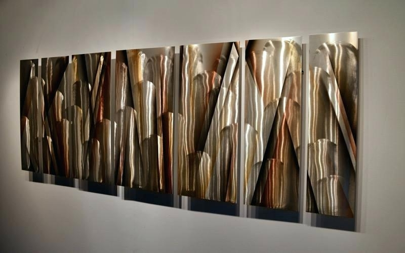 Contemporary Metal Wall Art Abstract Metal Wall Sculptures Metal Pertaining To Newest Contemporary Metal Wall Art Sculpture (View 8 of 15)