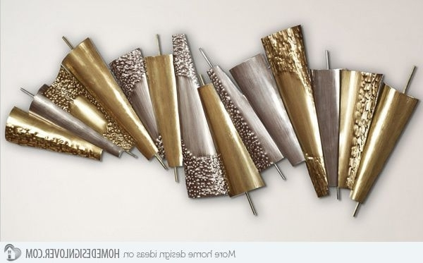 Contemporary Metal Wall Art Sculpture With Well Liked 15 Modern And Contemporary Abstract Metal Wall Art Sculptures (View 12 of 15)