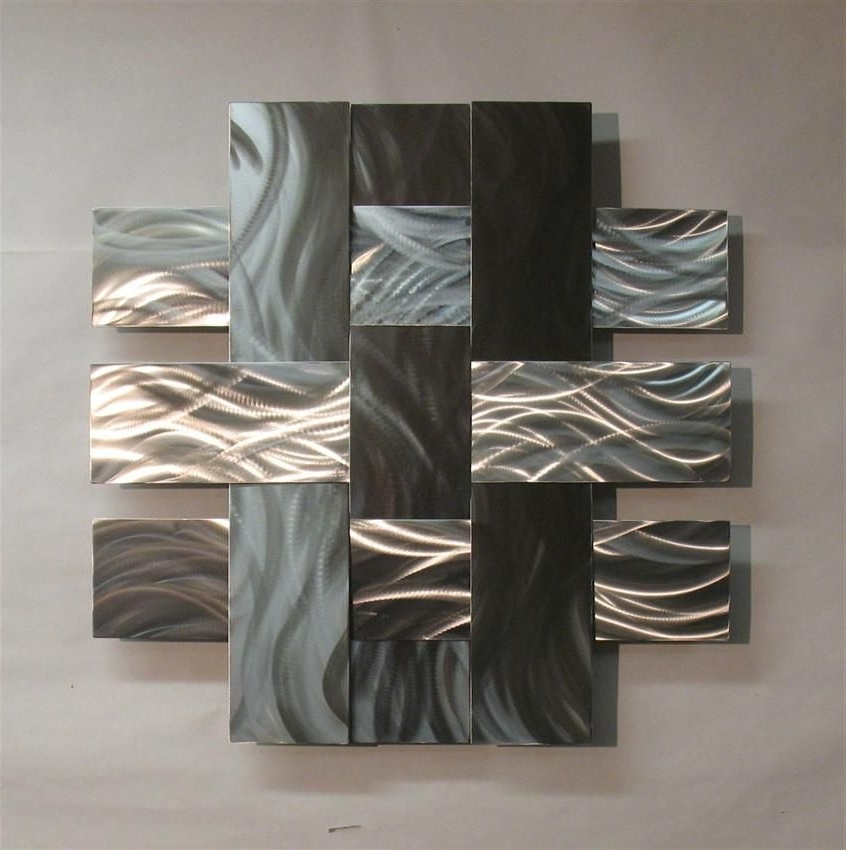Contemporary Metal Wall Art (View 4 of 15)